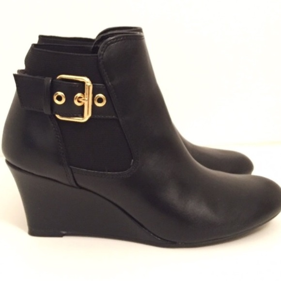 078d5dfdbab0 Shoes - Dexflex COMFORT栗 ♀️Beautiful Ankle Boots Wedge✨